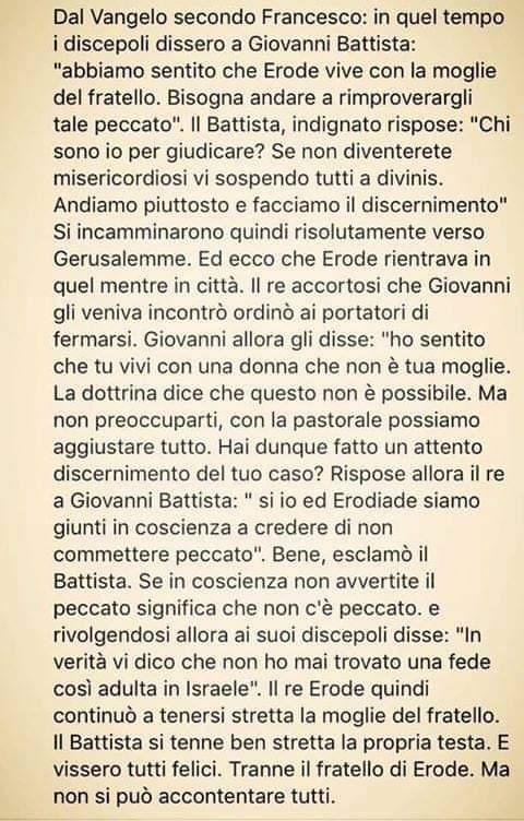Vangelo secondo Francesco San Giovanni