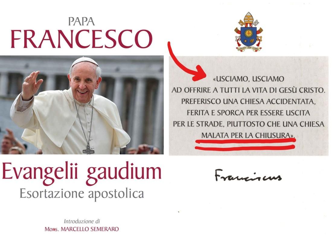 Evangelii gaudium collage finale2